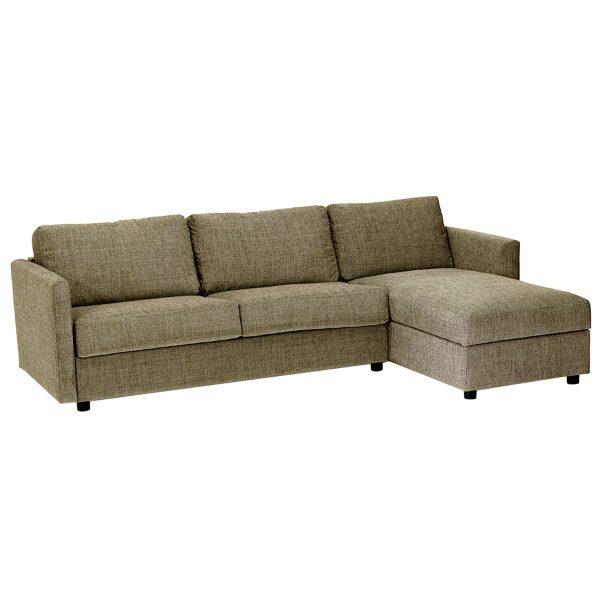 Extra sovesofa 3,5 pers m/chaise h. poc. Vera DB