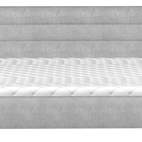 Madrid dobbeltseng 140x200 grå stof