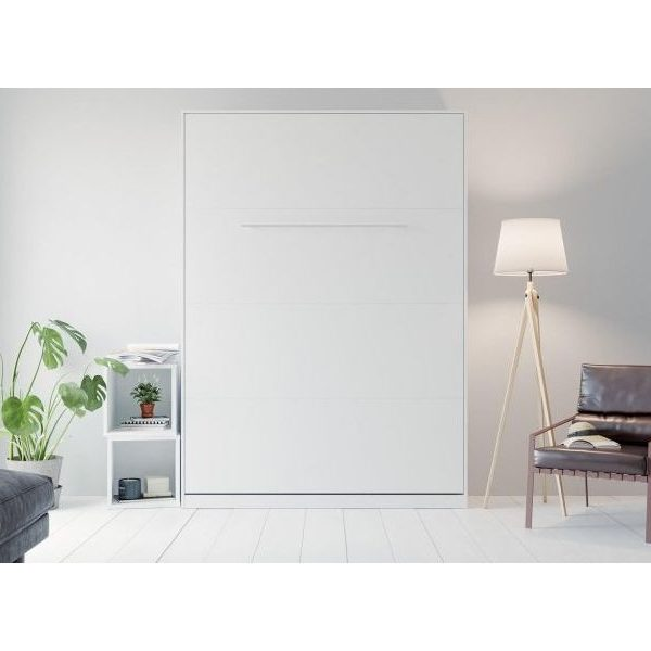 Premium Style Skabsseng 140x200. Lodret-hvid