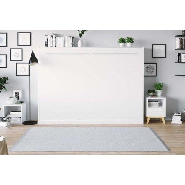 Premium Style Skabsseng 140x200. Vandret-hvid