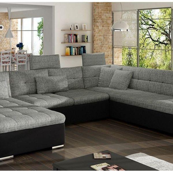 Affi 2 -U Sofa Med Sovefunktion. Soft 011- Lawa 05
