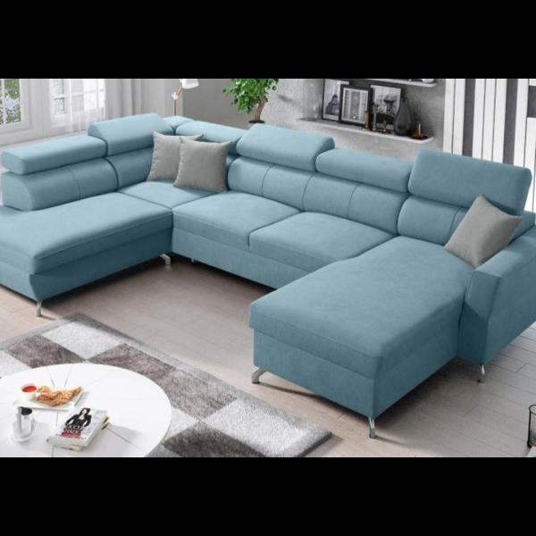 Veneto Open-end U- Sofa : Premium Skum, Hvid
