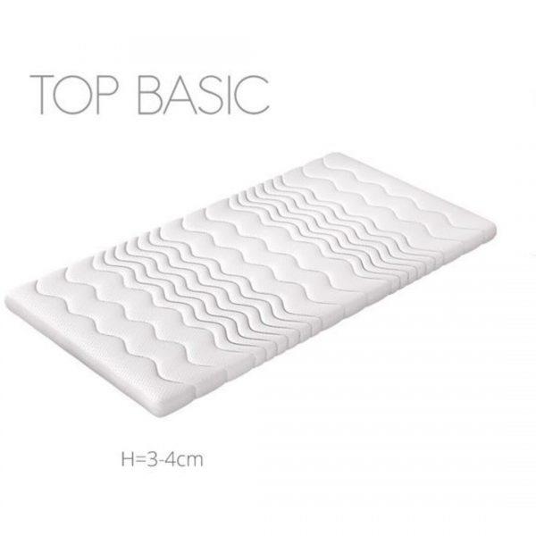BASIC TOPMADRAS 160x200 cm med Komfortskum