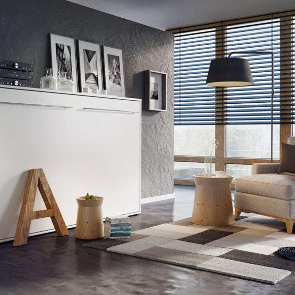 Concept Vægseng : Hvid, 120x200