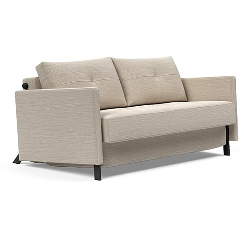 Cubed with ams sovesofa 2 pers Blida Sand Grey