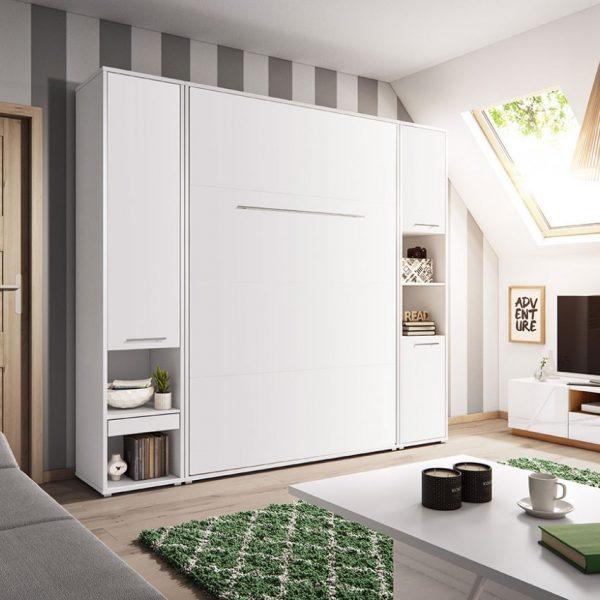 Møbelsæt Concept Pro 120x200 : Hvid, 90x200