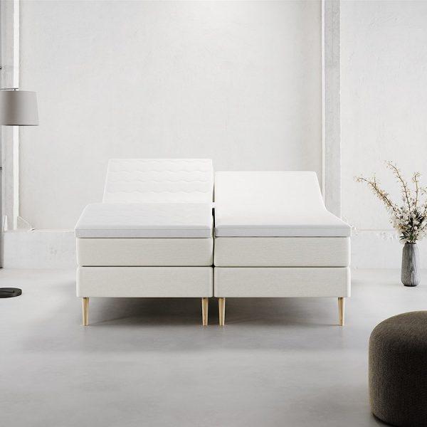 Stockholm Boxelevation EF (Sand) - 180x200 cm.